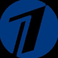 Первый канал (2000, синий круг)