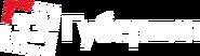 33 Губерния (горизонтальный красно-белый логотип)