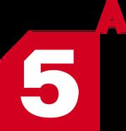 5-ый канал(Пятёрка)лого с буквой а