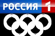 Россия-1 (Олимпиада, Сочи 2014) белые кольца