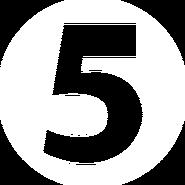 Channel 5 (Ukraine) (2005) (white)