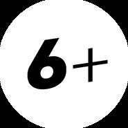 Возрастное ограничение 6+ (Пятница, с 2013)