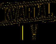 Квартал TV (плоский черный логотип)