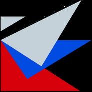 Россия (РТР) (начало 1990-х, заставочный, флаг)