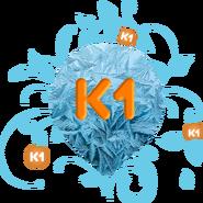 К1 (6-й логотип, зимний)