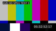 Настроечная таблица ТВ Центр (с 2020)