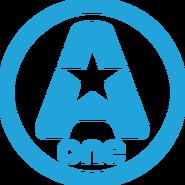A-One (Ukraine) (2-nd logo, blue)