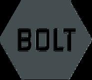 BOLT (серый плоский логотип)