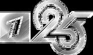 Первый канал (2020, 25 лет, чёрно-белый)