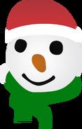 Новый канал (Украина) (2017-2018, новогодний, снеговик)
