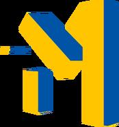 Муz.One (М1 Украина, 2001-2003, жёлто-синий)