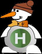 Новогодний логотип 204-2006