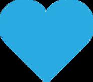 СТС Love (2019, мини, голубой)