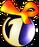 Новогодний логотип ОРТ (1998-1999)
