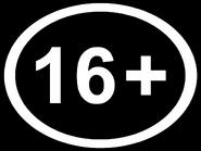 Возрастной знак 16+ (AzTV (Азербайджан), 2020, другая версия, урезанной вид)