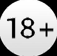Возрастной знак 18+ (Россия-1, 2012-2017)