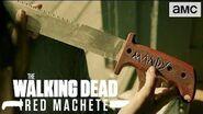 The Walking Dead Red Machete Sorrowful