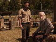 Rick and Hershel Season 4
