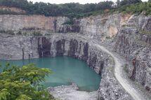 Walking Dead campamento Beltling Quarry