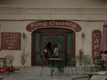 King County Cafe Michonne and Carl