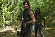 Daryl y Michonne Season 4