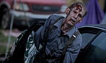 TWD Zombie Man outside Car