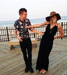 Jenna and Tyler Joseph
