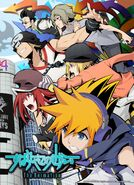 TWEWY Anime New Key Art