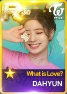 Dahyun SuperStar JYPNation WhatIsLove R Card