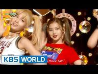 TWICE - Do It Again - Like OOH-AHH - 트와이스 - 다시 해줘 - OOH-AHH 하게 -Music Bank Hot Debut - 2015.10