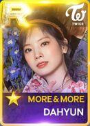 Dahyun SuperStar JYPNation More&More R Card