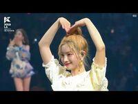 -Full- TWICE (트와이스) - Dance The Night Away, Talk, What is Love, Likey, & Cheer Up @ KCON LA 2018