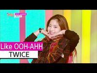 -HOT- TWICE - Like OOH-AHH, 트와이스 - OOH-AHH하게, Show Music core 20151107
