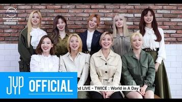 ENG Beyond LIVE – TWICE World in A Day (Invitation✉)