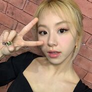 Chaeyoung IG Japan Update 210303 1