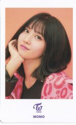 One More Time Photocard Momo 2