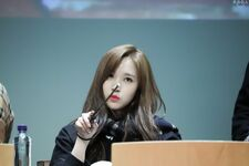 Yes Or Yes Sangnam Fansign Mina 12