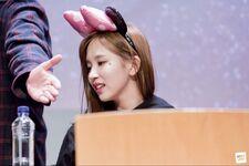 Yes Or Yes Sangnam Fansign Mina 2