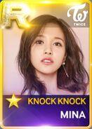 Mina SuperStar JYPNation KnockKnock R Card