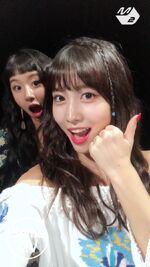 Dance The Night Away Selfie MV Chaeyoung & Momo