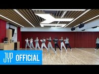 """TWICE """"I CAN'T STOP ME"""" Dance Practice Video"""