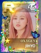 Jihyo SuperStar JYPNation Oxygen LE R Card