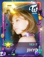 Jihyo SuperStar JYPNation TrickIt LE R Card