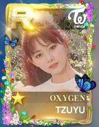 Tzuyu SuperStar JYPNation Oxygen LE R Card