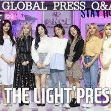 ENG 트와이스(TWICE) 'SEIZE THE LIGHT' GLOBAL PRESS Q&A Full ver. (기자 질문답변 시간)