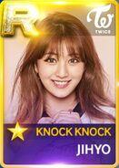 Jihyo SuperStar JYPNation KnockKnock R Card