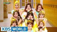 TWICE (트와이스) - Cheer Up Music Bank HOT Stage 2016.05