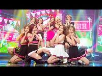 《Goodbye Stage》 TWICE(트와이스) - OOH-AHH하게(Like OOH-AHH) @인기가요 Inkigayo 20151129