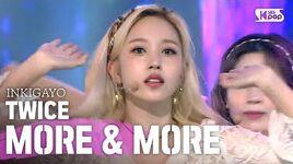 TWICE(트와이스) - MORE & MORE @인기가요 inkigayo 20200614