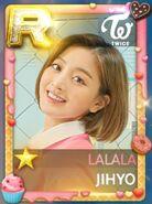 Jihyo SuperStar JYPNation Lalala LE R Card